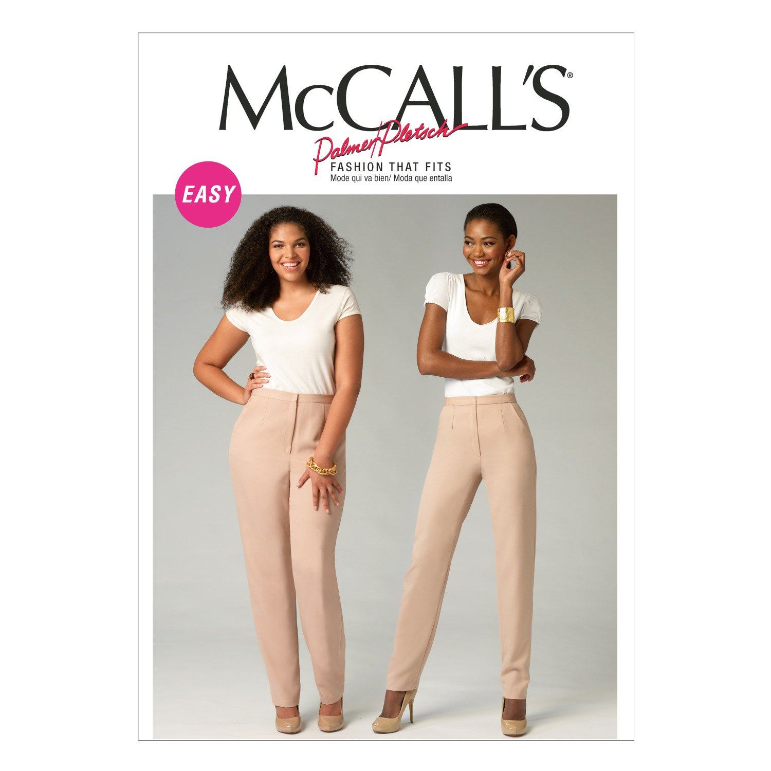 McCall Pattern Company M6901 Misses'/Women's Pants Sewing Template M6901OSZ
