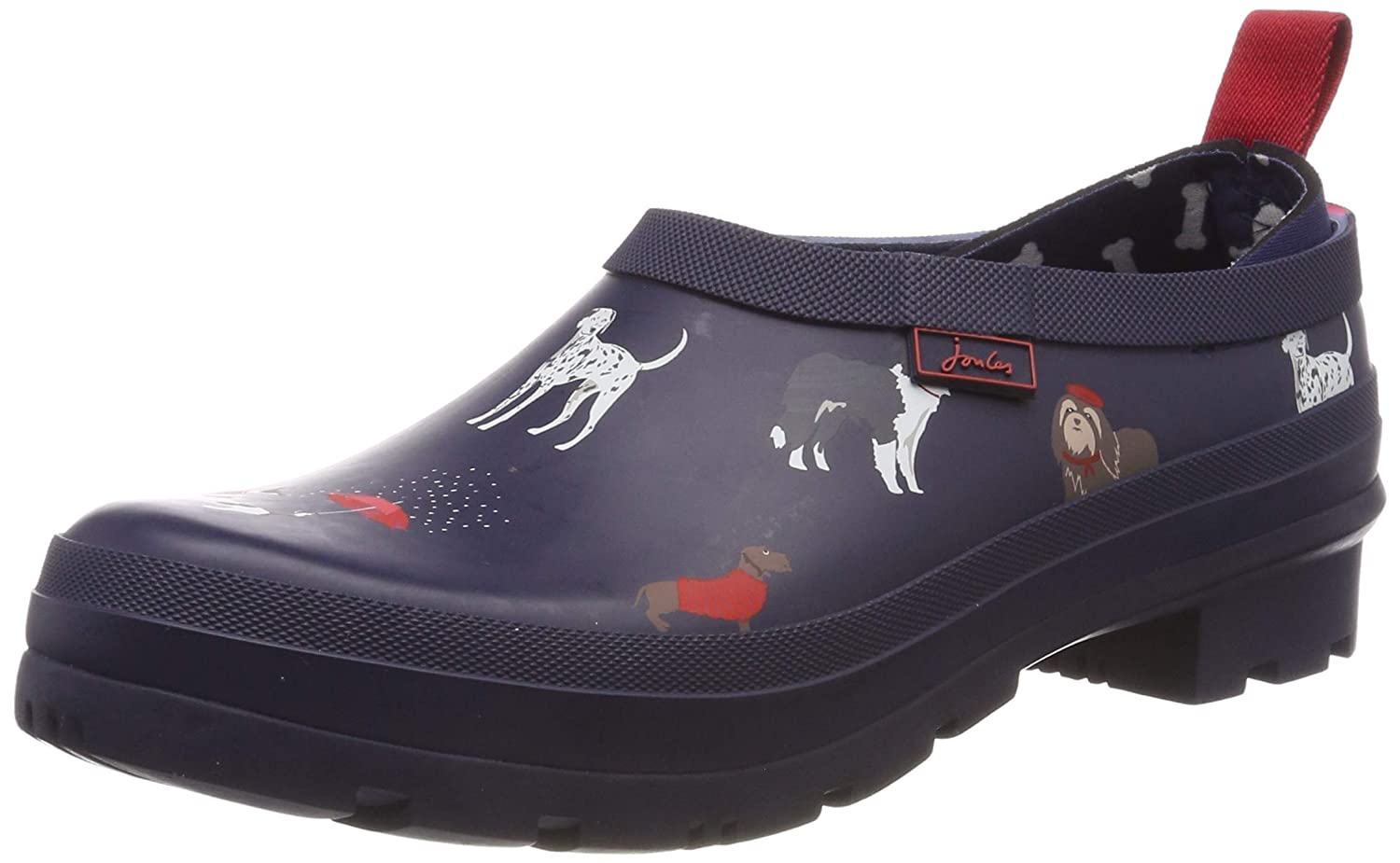 Navy Dogs Joules Women's Pop On Welly Clogs