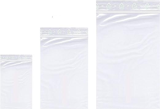 Druckverschlussbeutel ZIP Beutel Verschlussbeutel gemischte Farben 40x40mm 400St