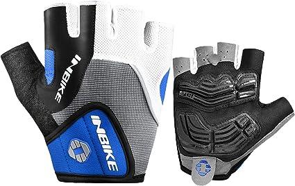 Inbike Cycling Gloves Men Mountain Bike 5Mm Gel Pad Shock-Absorbing|Anti Slip|B