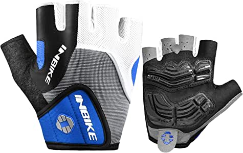 INBIKE 5mm Gel Pad Half Finger Bike Bicycle Cycling Gloves