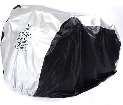 GenialES® Cubierta para Bici 26 Pulgadas Funda Impermeable Anti UV ...