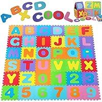 Deuba Alfombra puzzle para niños bebe 86 piezas
