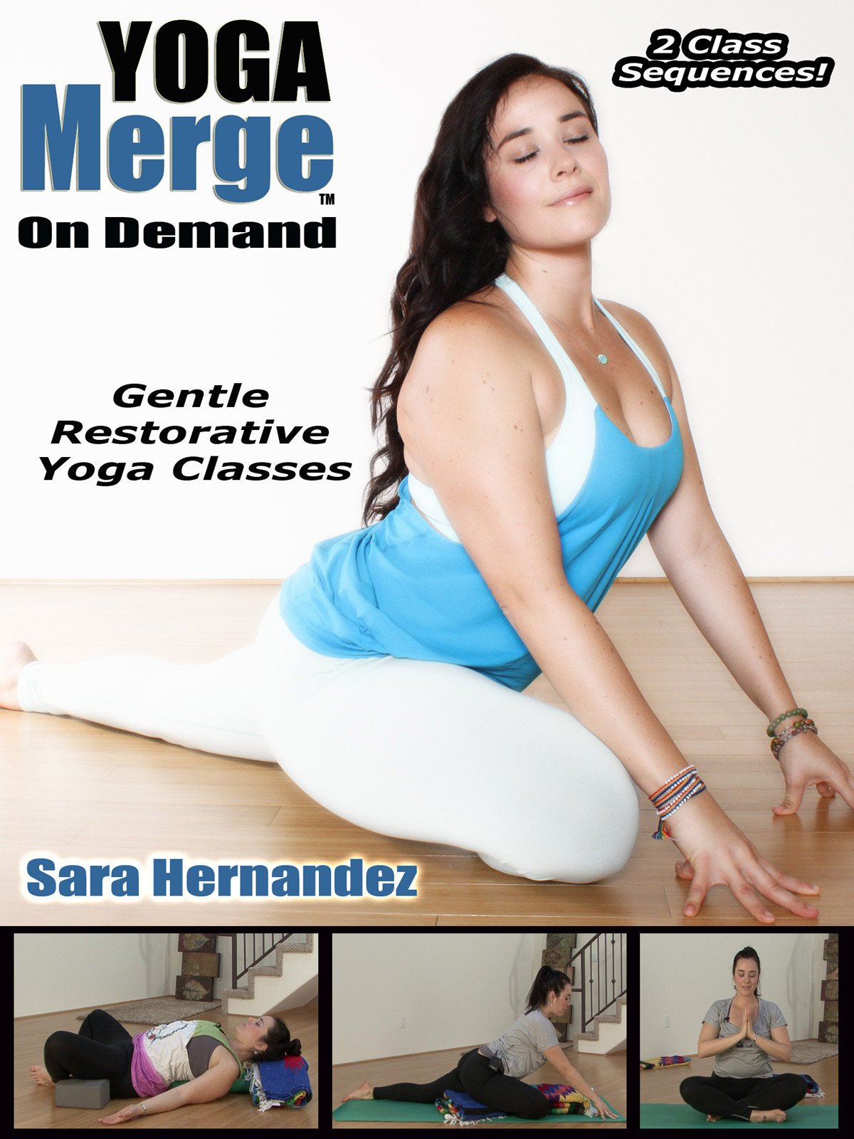 Amazon.com: YogaMerge - Rejuvenating Restorative Yoga Class ...