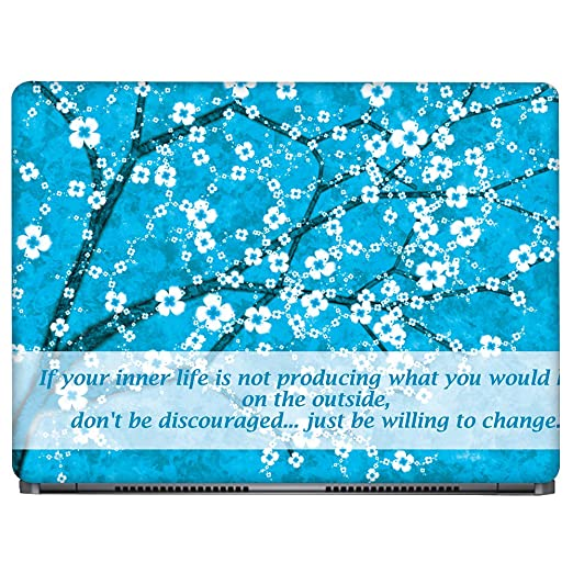 Crazyink Your Inner Life Laptop Skin  15 to 15.6 inch
