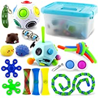 AKILION Fidget Pack, Sensory Fidget Toys Pack with Storage Box, Stress Relief and Anti-Anxiety Fidget Set for Kids…