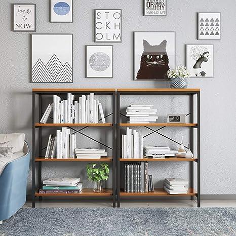 Amazon.com: Homevol estantería para libros, 5 estantes ...