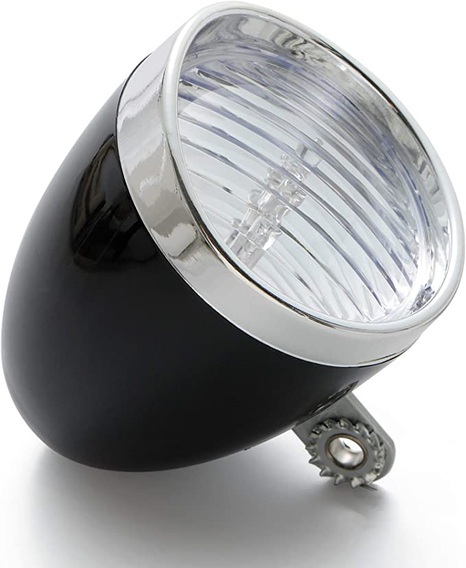 Retrospec LED Vintage Bullet Bicycle Headlight