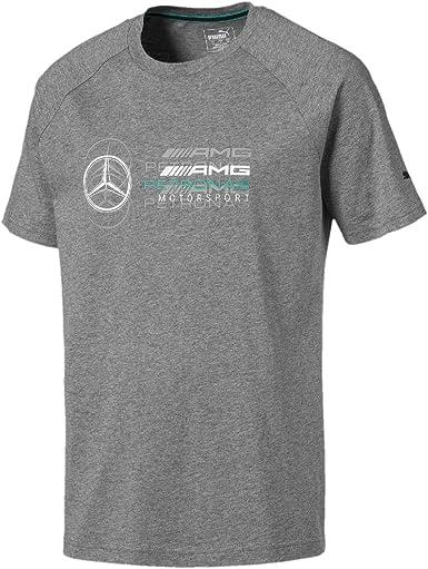 Mercedes AMG Petronas Mercedes Amg Logo tee, M Camiseta, Gris (Gray Gray), Medium para Hombre: Amazon.es: Ropa y accesorios