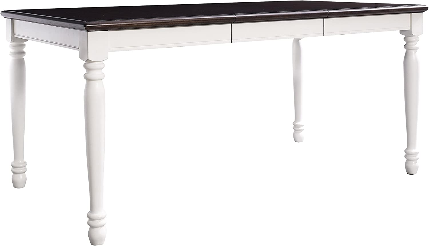 Crosley Furniture CF2002-WH Shelby Expandable Dining Table, White