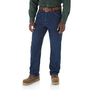 7c38220f Riggs Workwear By Wrangler Men's Carpenter Jean,Antique Indigo,30X30