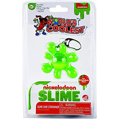 World's Coolest Nickelodeon Slime Keychain,: Toys & Games