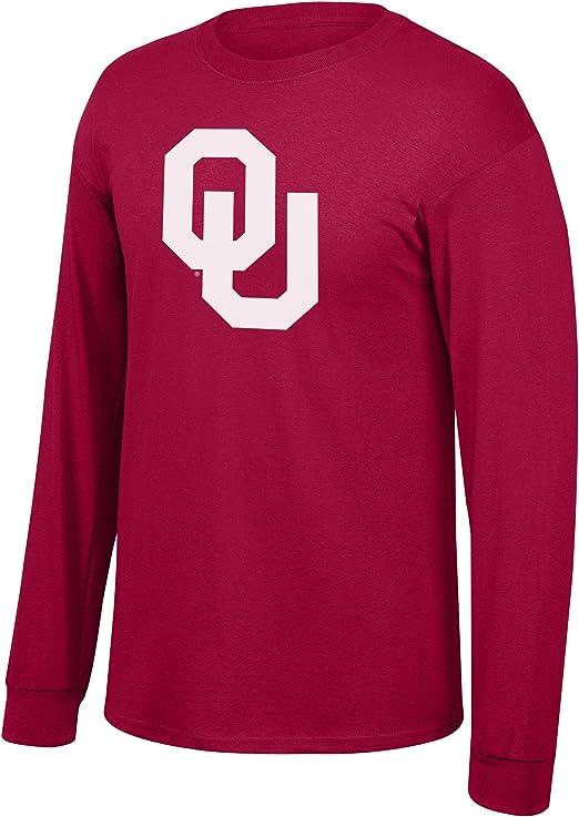 Elite Fan Shop NCAA Mens Crew Sweatshirt Charcoal Seal