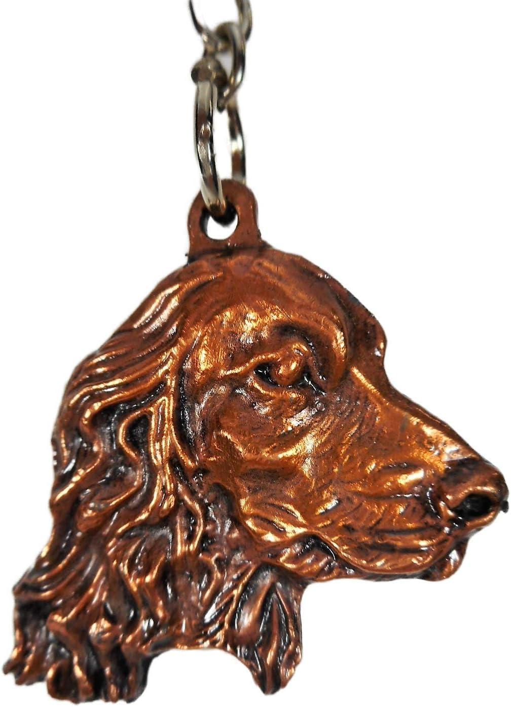 Schl/üsselanh/änger Hund Cocker Spaniel 7 x 3 x cm Keychains Figur Deko GV D3