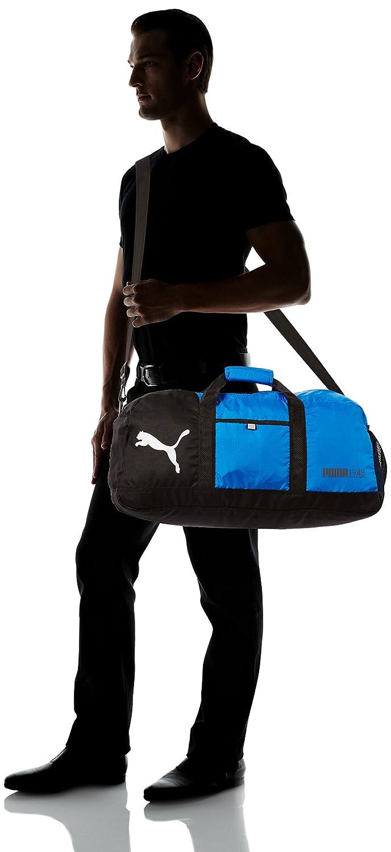 bcdbdcdc2b46e PUMA Foundation Sporttasche Tasche Reisetasche Fitnesstasche blau schwarz   Amazon.de  Koffer