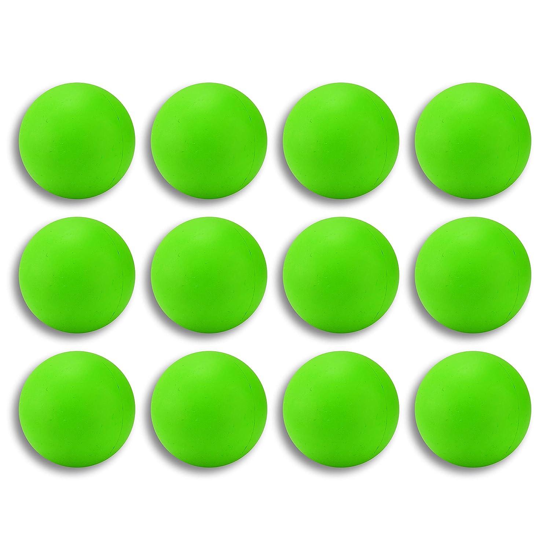 ラクロスマッサージボール グリーン 12個パック 12個パック B07KRNW8VF B07KRNW8VF グリーン グリーン, MASPHALTO:31209e97 --- zonespirits.xyz