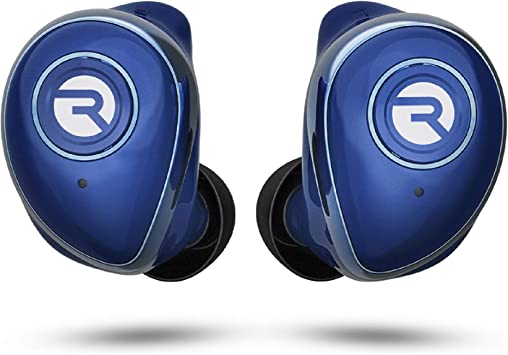 Amazon Com Raycon The Performer E55 True Wireless Bluetooth Earbuds Bluetooth 5 0 Deep Bass In Ear Headphones With Wireless Charging And Built In Microphone Blue Home Audio Theater