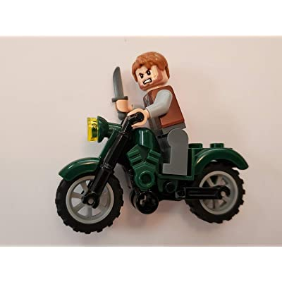 LEGO Jurassic World Owen with Motorcycle: Toys & Games [5Bkhe0904080]