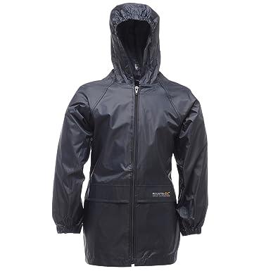 fd31fea4a Regatta Unisex Kids Storm Break Waterproof Jacket: Amazon.co.uk: Clothing