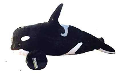 Amazon Com Large Stuffed Orca Whale Big 32 Plush Toy Killer