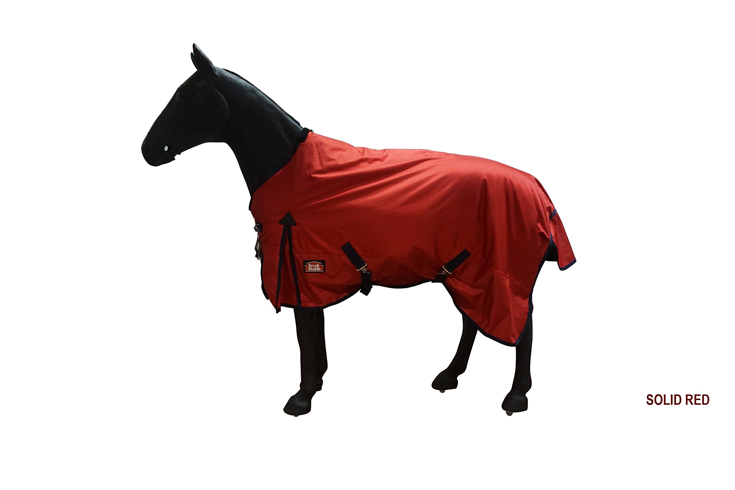 Barn & Stable Horse Blanket Turnout Blanket 1680D, 210D Lining and 200grm Fill by Barn&Stable