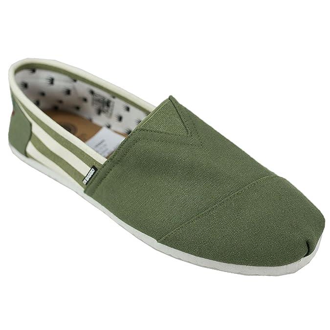 c7d20eba6 Di Baggio Mens Striped Summer Elasticated Slip On Espadrilles Plimsoll Shoes:  Amazon.co.uk: Shoes & Bags