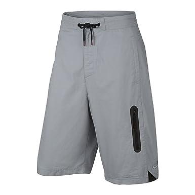 Nike - Pantalón Corto de Baloncesto para Hombre Lobo, Gris ...