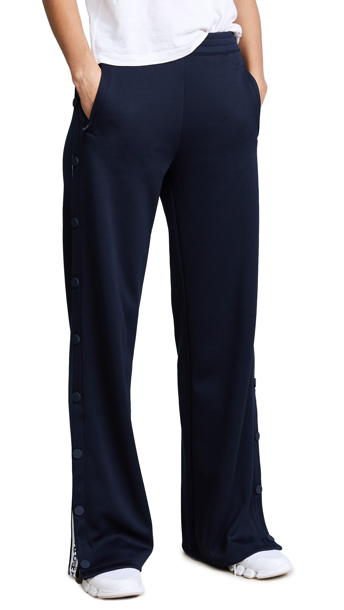 Tory Sport Women's Banner Tear Away Track Pants, Tory Navy, Large