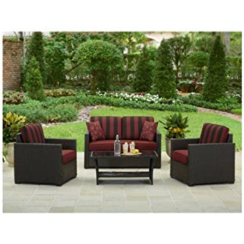 conversation patio furniture on sale outdoor sets with fire pit better homes gardens rush valley piece set