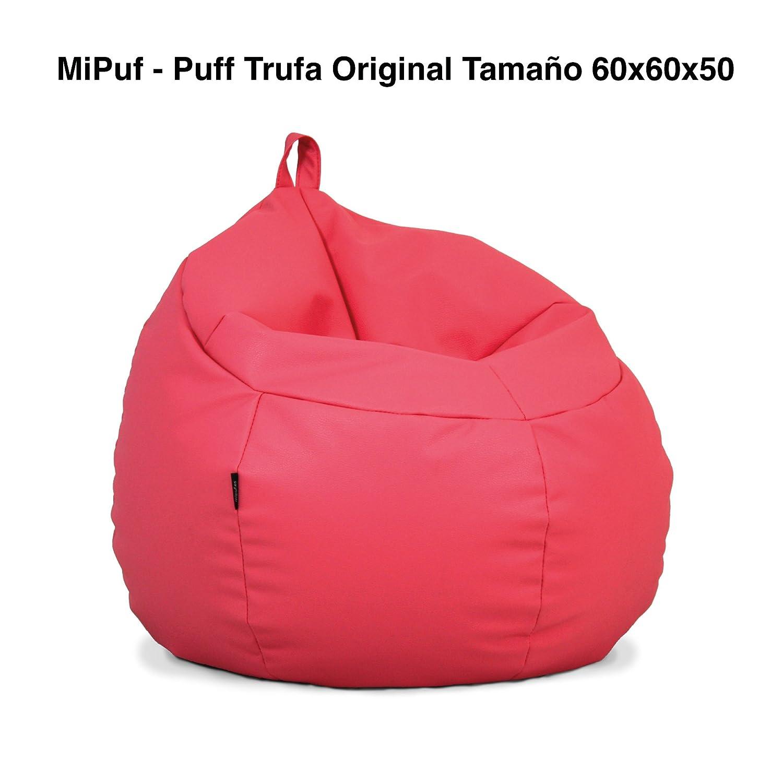 MiPuf - Puff Trufa Original - Tamaño 60x60x50 - Tejido Polipiel ...