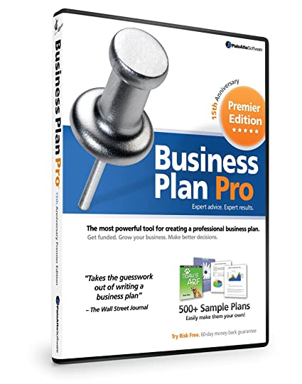 amazon com business plan pro premier 15th anniversary edition old