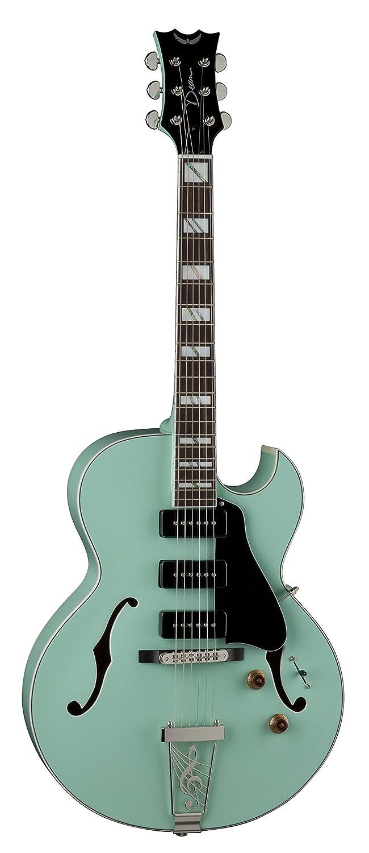 Dean Guitars Dean PAL SG Palomino cuerpo del hueco de la guitarra eléctrica - Mar Verde: Amazon.es: Instrumentos musicales