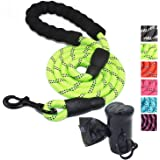 Long Dog Leash 1.5M Durable Highly Reflective Lightweight Lead for Small Medium and Large Dogs, Yellow