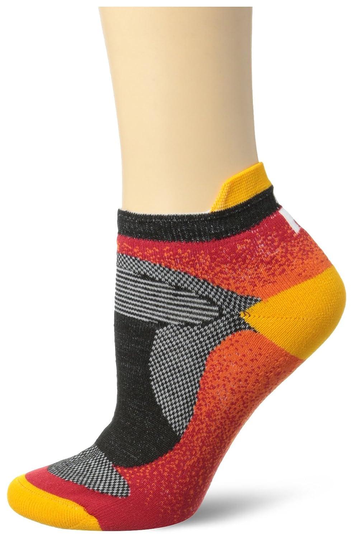Wigwam womens Women's Ironman Flash Pro Low Cut Lightweight Running Sock Flame/Oange Medium Wigwam Men's Socks P2731