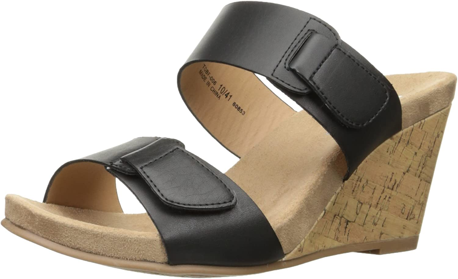 CL by Chinese Laundry Women's Team Player Wedge Sandal Slide