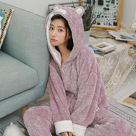 Bayrick Pijamas Mujer Invierno Enteros,Conjunto de Pijamas de ...