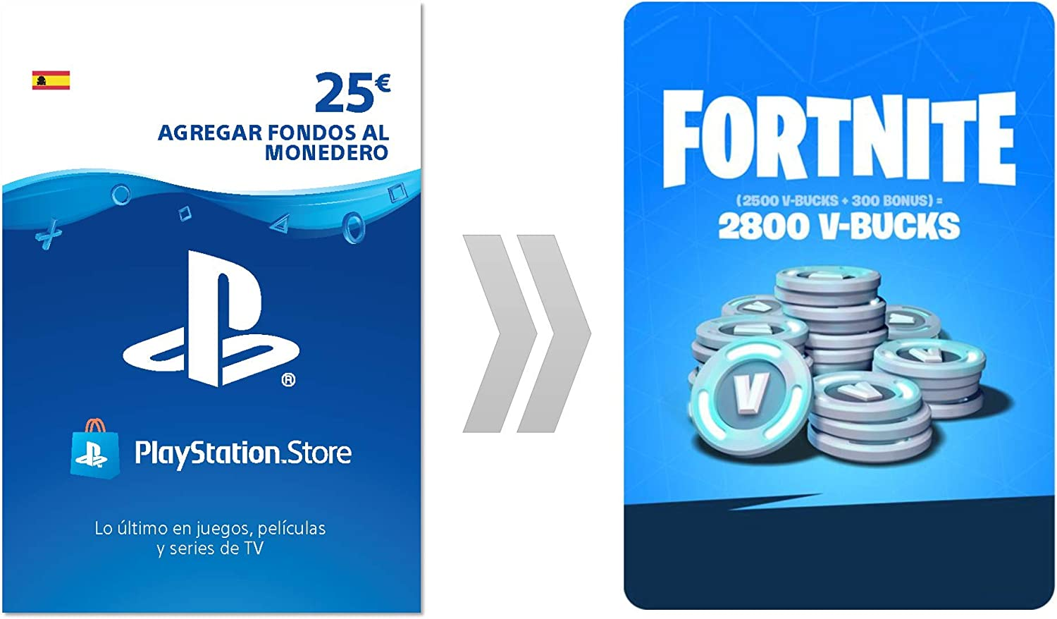 PSN Credito para Fortnite 2800 V-Bucks | Código de descarga PS4 ...