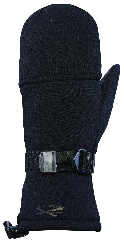 Large Seirus Innovation Mens HWS Xtreme Glomitt Black