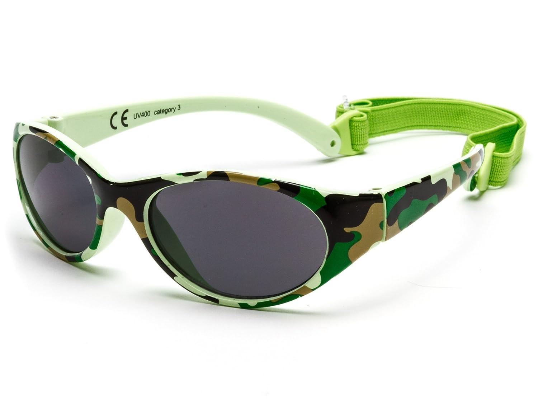 Gafas de sol para niña entre 2 y 6 años, hecho de goma TOTALMENTE FLEXIBLES, 100% protección rayos UVA y UVB, seguras, confortables y muy resistentes, ideal regalo, Kiddus Comfort KI30413