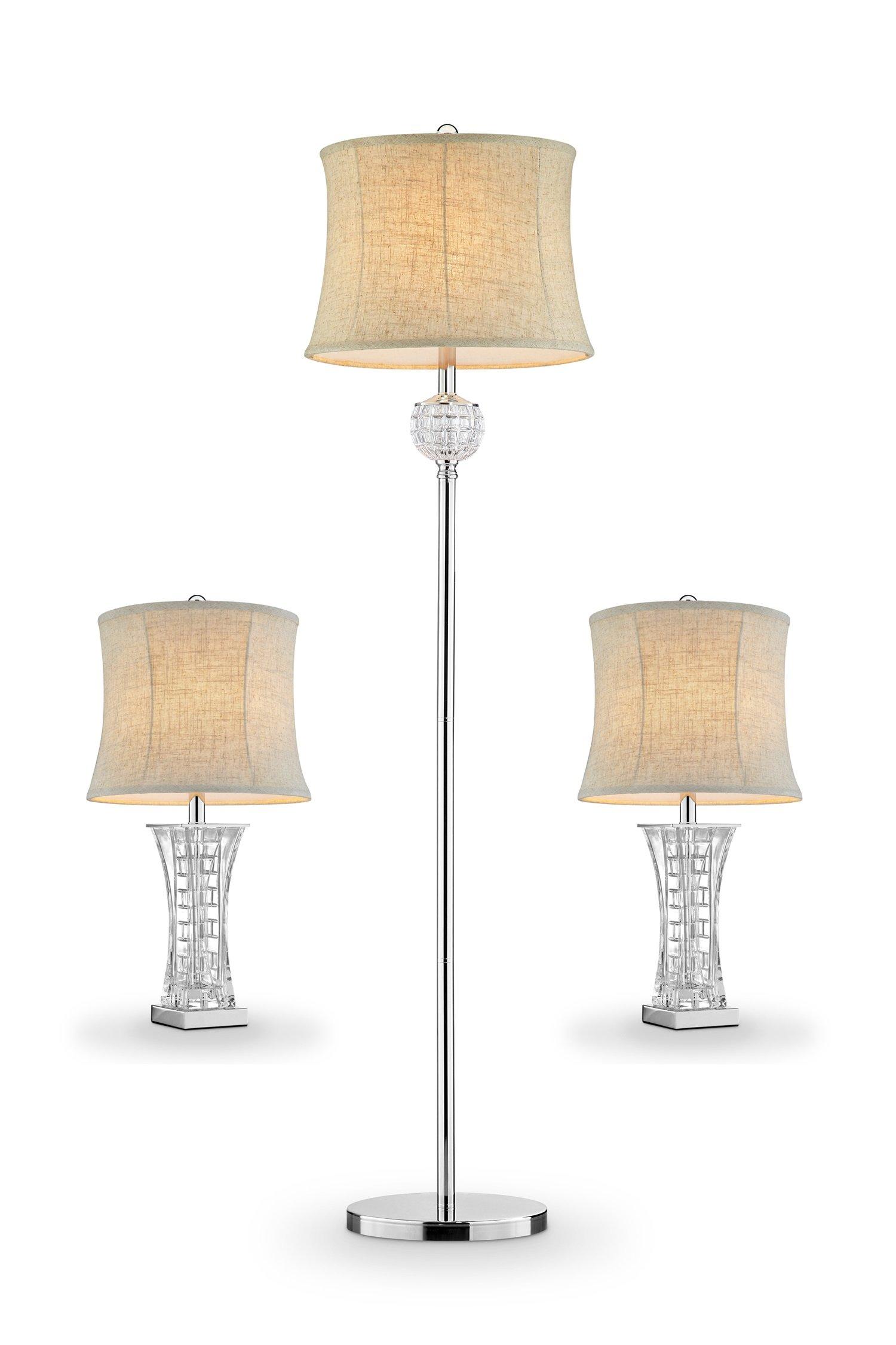 OK Lighting OK-5715-31 Lunette Lamp 3 In 1 Bonus Pack ( 2T + 1F)