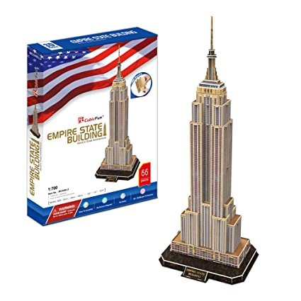 CubicFun- Puzzle 3D Empire State Building (CPA Toy Group Trading SL MC048)