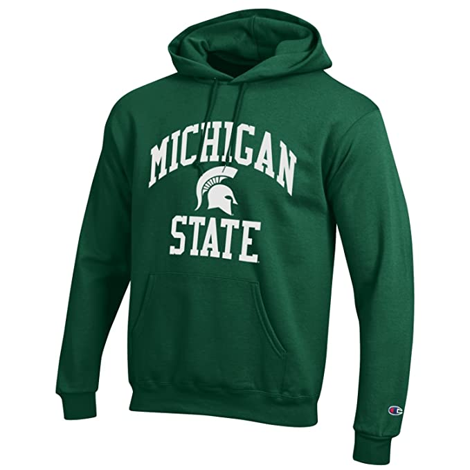 Sudadera verde con capucha Michigan State NCAA de Champion: Amazon.es: Ropa y accesorios