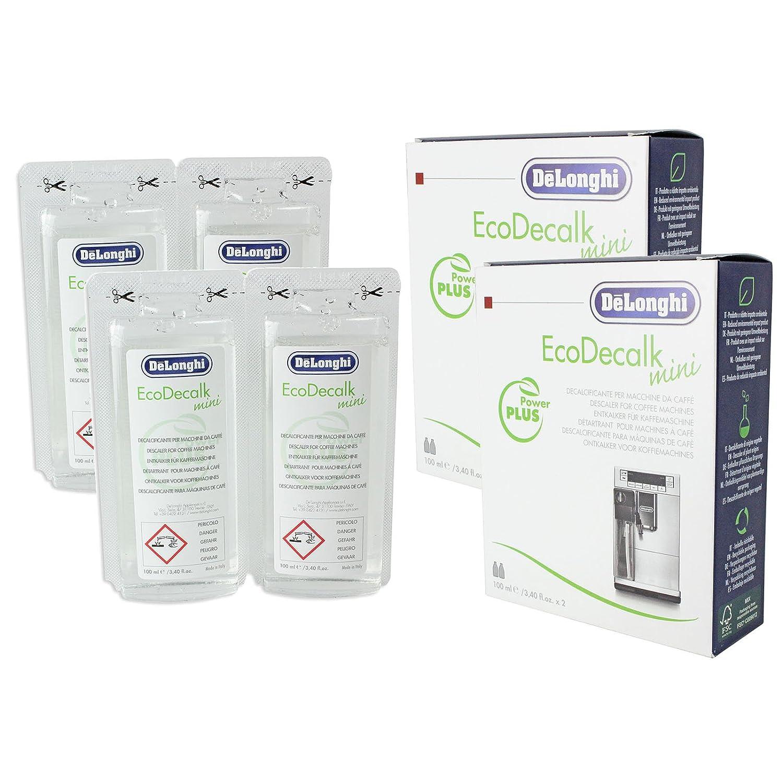 Delonghi EcoDecalk unidades Mini 2 (total 4 x 100 ml bolsas)