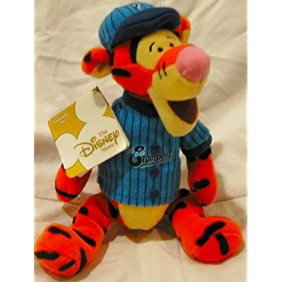 Disney Bean Bag Plush-Baseball Tigger: Toys & Games