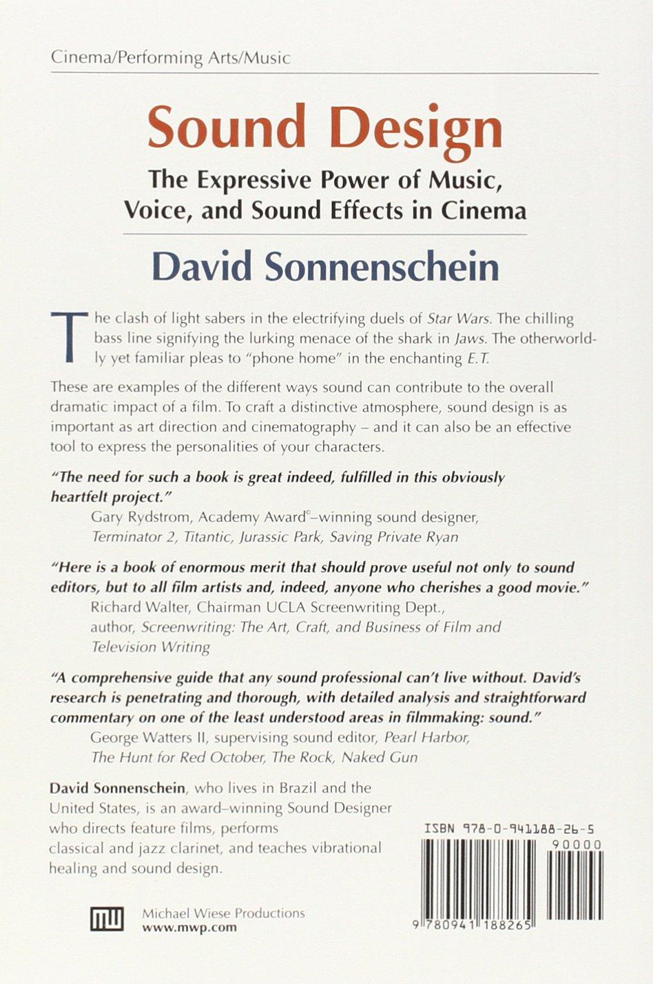 Literature craft and voice 2nd edition - Sound Design The Expressive Power Of Music Voice And Sound Effects In Cinema David Sonnenschein 8601404348785 Amazon Com Books