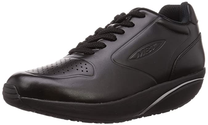 MBT mbt 1997 classic w leather winter, scarpe da ginnastica basse donna, blu (navy 12n), 36 eu