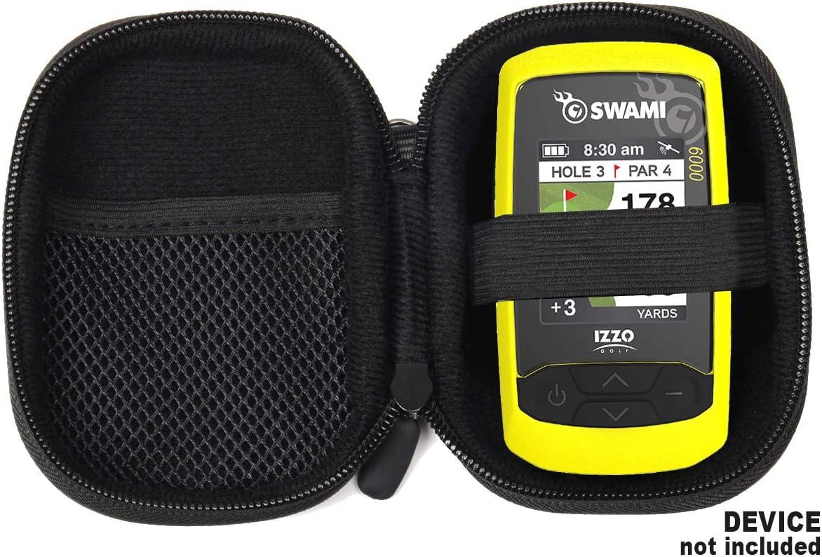 Casesack Golf Gps Hülle Speziell Für Izzo Swami 6000 Golf Gps Und Swami 4000 4000 5000 Golf Gps Entfernungsmesser Garmin Approach G30 G6 G7 Schwarz Navigation