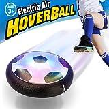 Pallone da Calcio da Casa Fluttuante - VIDEN Air Hover Ball Calcio da Interno con LED Luce, Giocattoli Sportivi per Bambini Natale Regalo, Football Gioco Indoor & Outdoor Air Power Soccer Disco