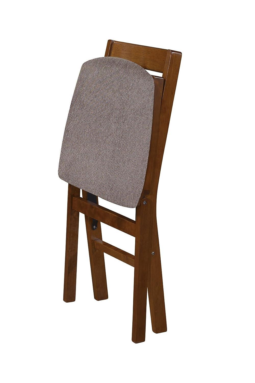 Amazon.com: stakmore Classic slat-back silla plegable ...