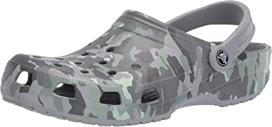 Crocs Classic Printed Camo Clog: Shoes